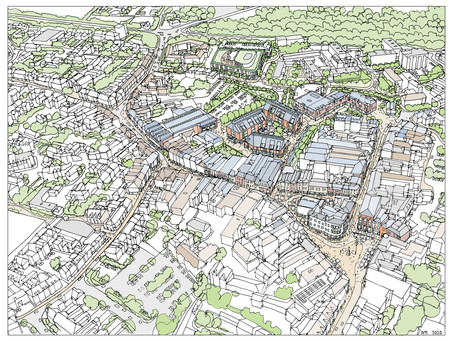 South of town centre project nominated for national prize