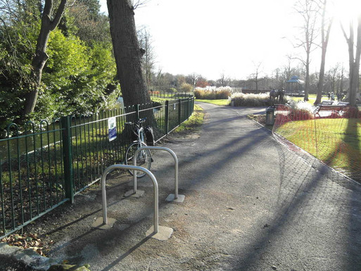 New cycle parking installed
