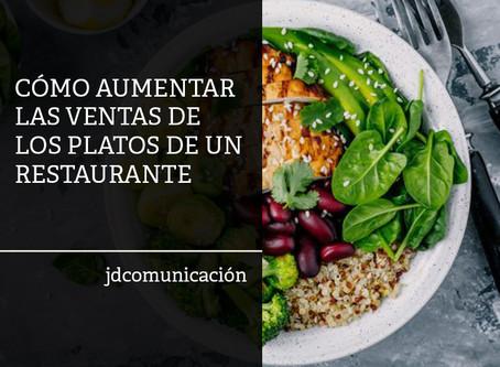 Cómo mejorar las ventas de los platos de tu restaurante