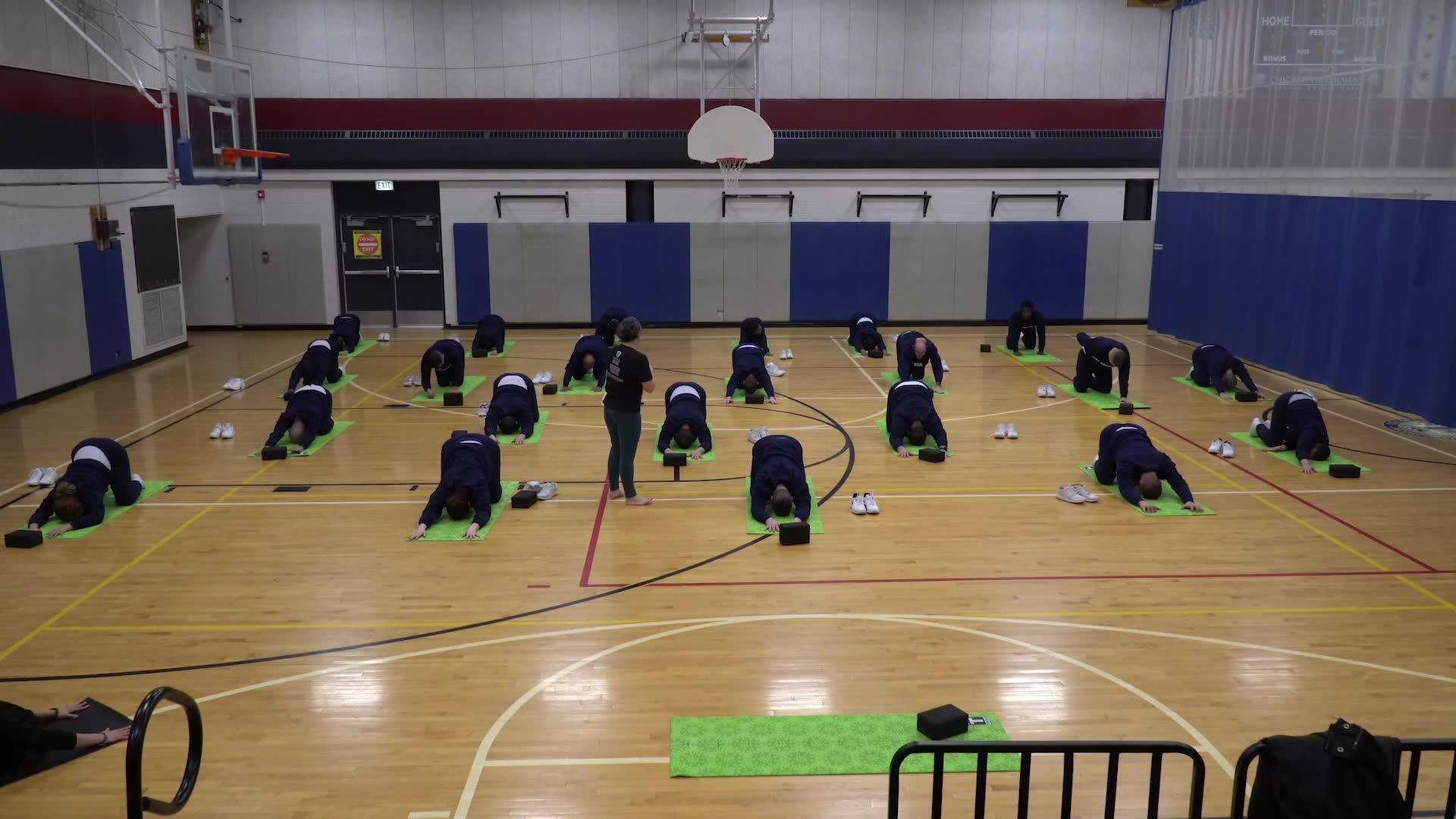 Yoga For First Responders at Chicago PD