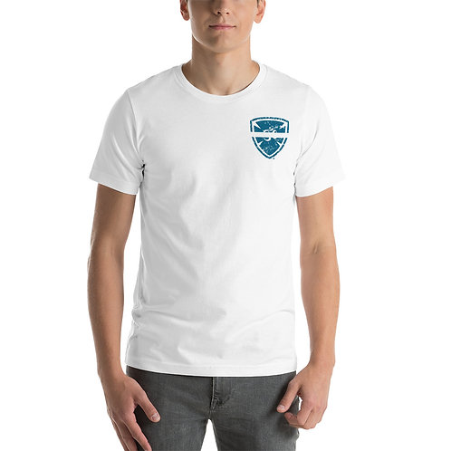 White Line YogaShield Short-Sleeve Unisex T-Shirt