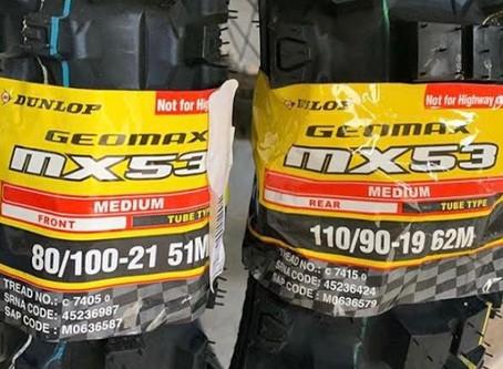 Dunlop Geomax MX53 Review!