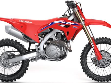 2022 Honda CRF450 Models!