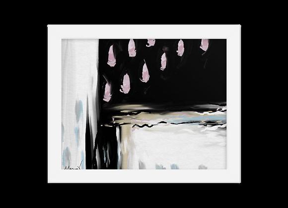 """""""Velvet"""" 00.4 Framed Poster"""
