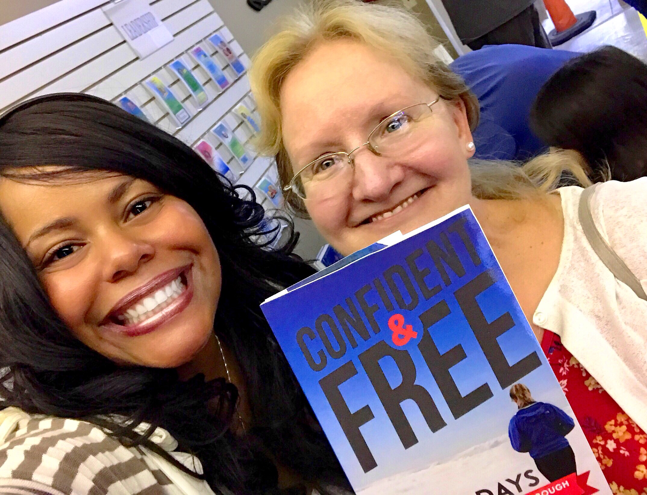 Confident & Free Book Signing
