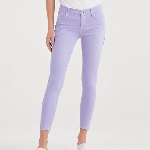7 for all Mankind Ankle Skinny in Soft Lilac 8
