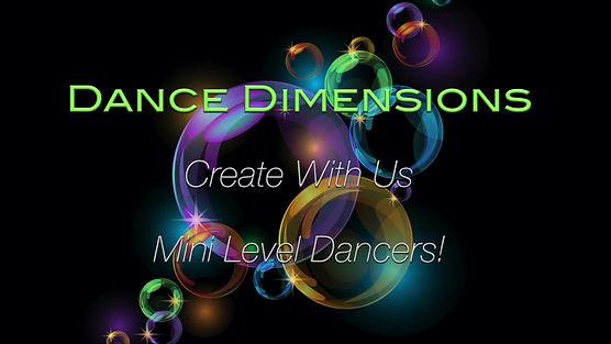 Mini Level Dancers