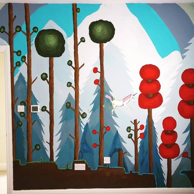 Terraria mural