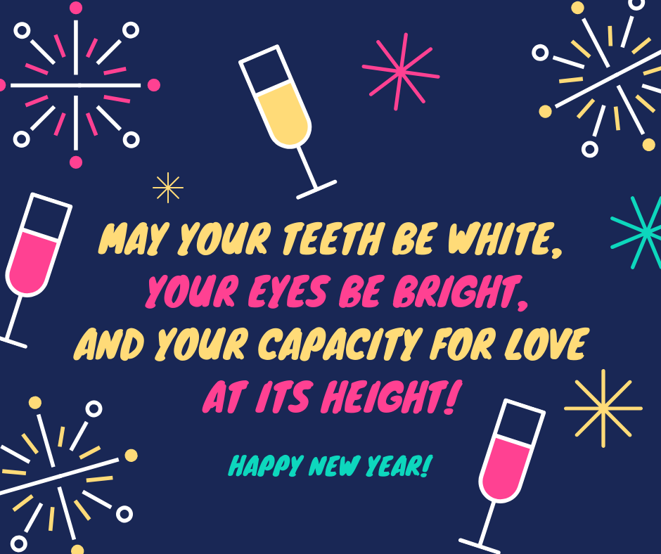 Happy New Year - wishes and quotes in English