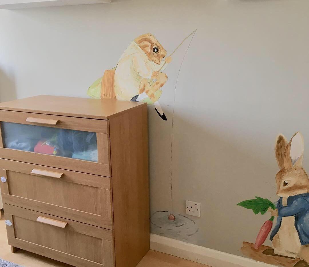 Beatrix Potter - Peter Rabbit and Mr Jeremy Fisher