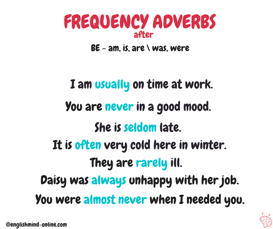 English Grammar in Chunks - Frequency Adverbs