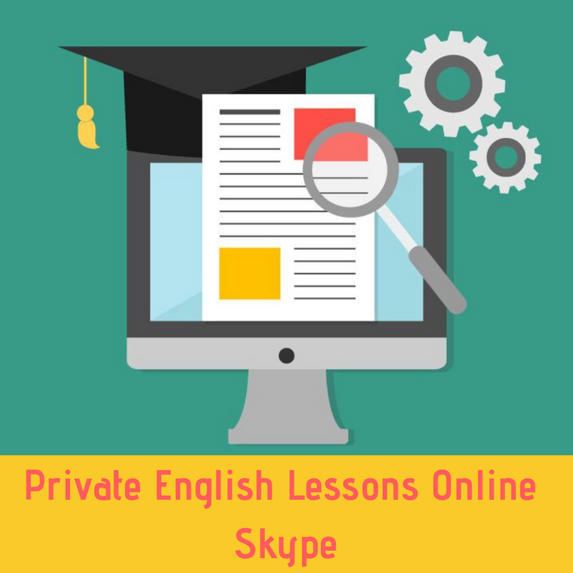 Private Individual English Lessons Online Skype