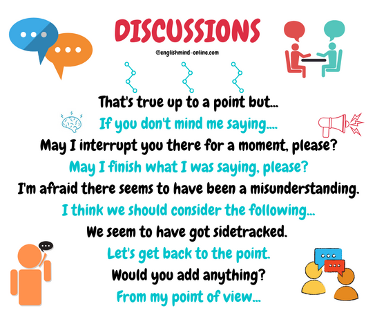 Discussions Phrases in English