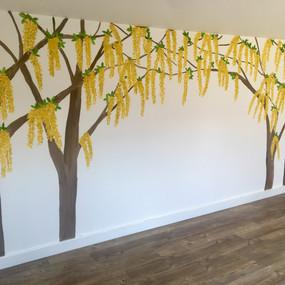Golden chain tree arch mural.jpeg