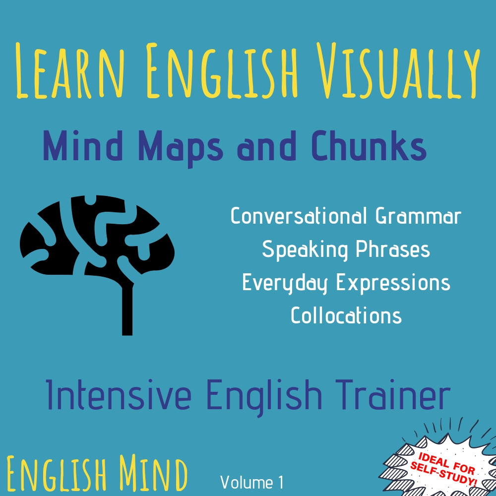 English Vocabulary and Speaking Book PDF - Mind Maps and Chunks