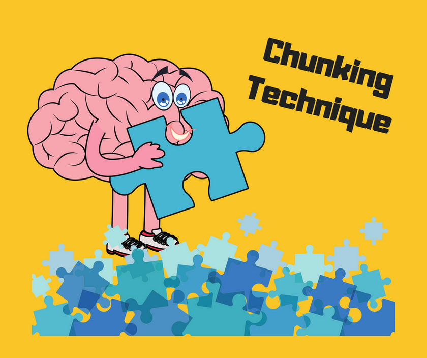 English speaking chunks vocabulary