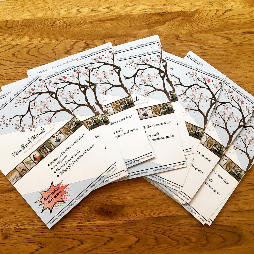 Brand new leaflets for Vera Rush Murals