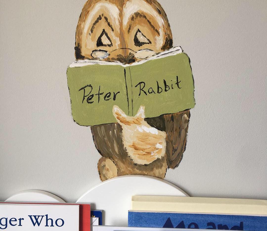 Beatrix Potter - Peter Rabbit - Owl