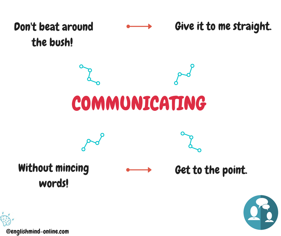 Communication phrases - learn English in chunks.