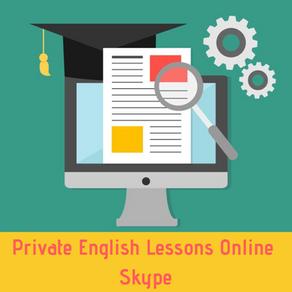 English Lessons Online via Skype