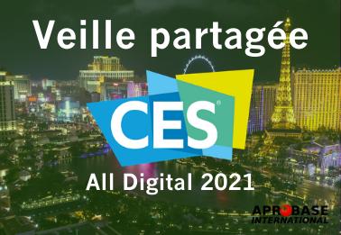 Webinar: optimisez votre participation au CES All Digital 2021 grâce à la veille partagée d'Aprobase