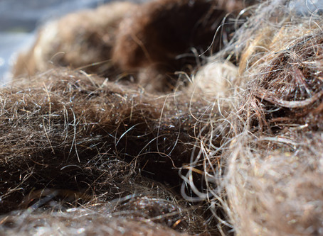How can we recycle hair?