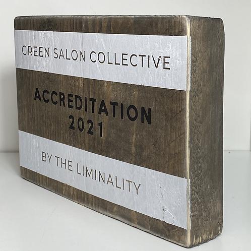 Green Salon Collective Accreditation 2021