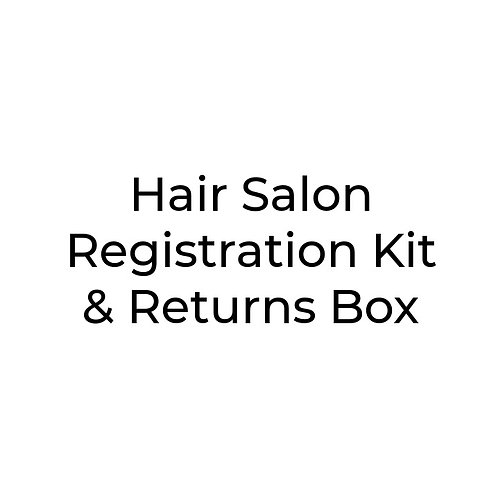 A Hair Salon Full Kit & Returns Box