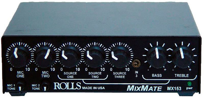 MX153 Mix Mate : Rolls