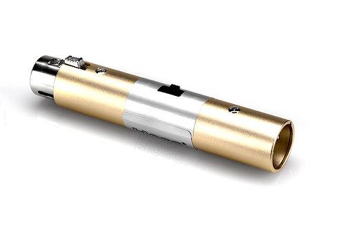 XLR3F to XLR3M Input Attenuator : Hosa