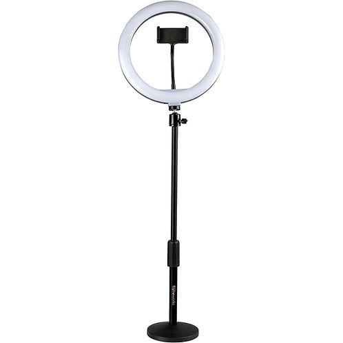 10-Inch LED Desktop Ring Light Stand with Phone Holder : Gator