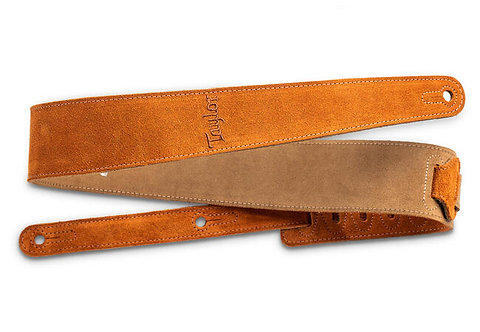"""2.5"""" Embroidered Suede Guitar Strap : Taylor"""