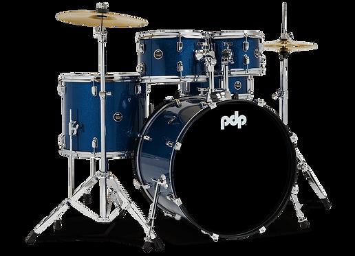 5-Piece Complete Kit - Center Stage -  Royal Blue Sparkle : PDP