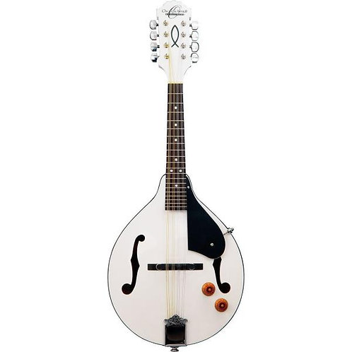 OM10EWH A-Style Acoustic Electric Mandolin : Oscar Schmidt