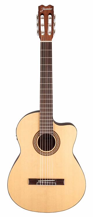 JC25CE-NAT Classical Acoustic Electric : Jasmine