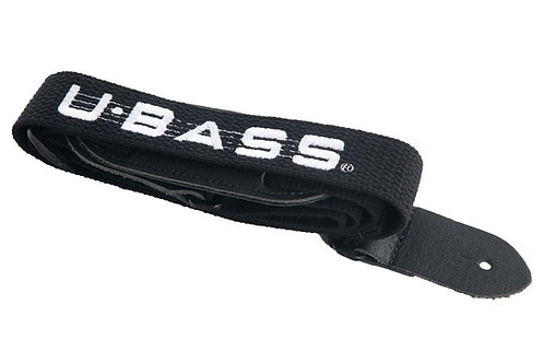 K-STPC-UBASS U•Bass Black Cloth Strap : Kala