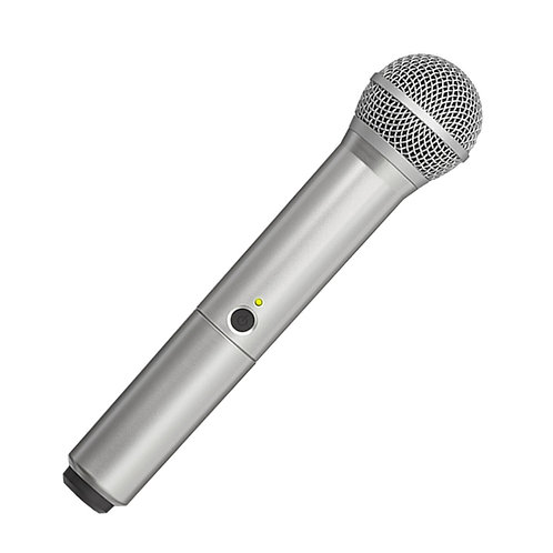 WA712-SIL Colored Handle Only for BLX2/PG58 Wireless Transmitters : Shure