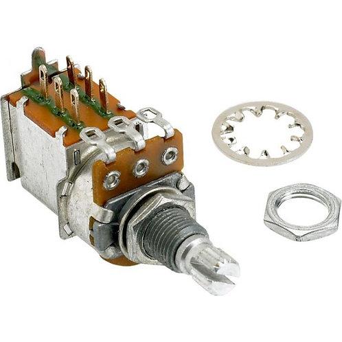250K Split Shaft Push Pull Potentiometer  : Fender