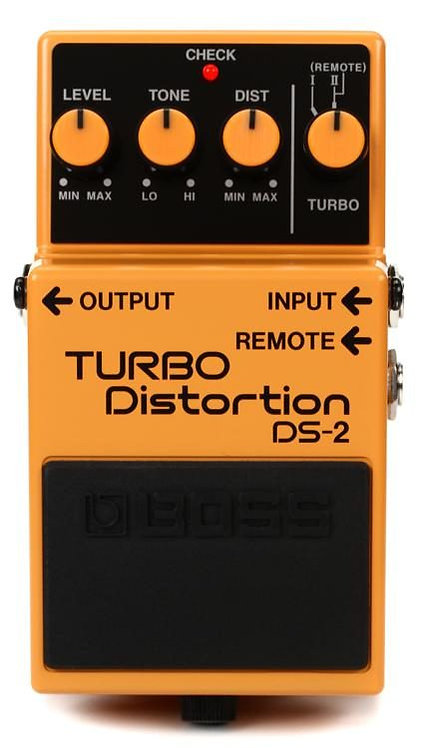 DS-2 Turbo Distortion Pedal : BOSS
