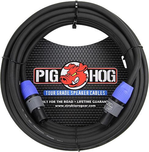 50ft Speaker Cable Speakon to Speakon : PigHog