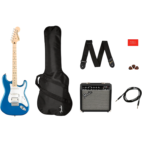 Affinity Series Stratocaster HSS Electric Guitar Pack : Squier
