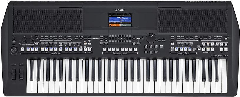 PSR-SX600 61-Key Arranger Keyboard - Yamaha