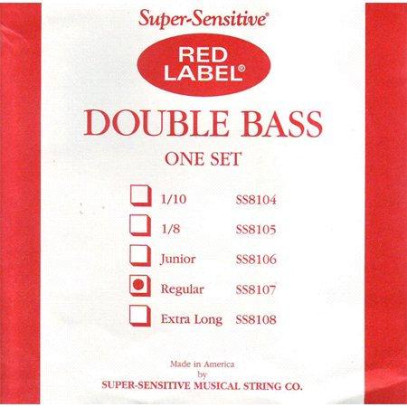 8107 Double Bass String Set 3/4 - Supersensitive