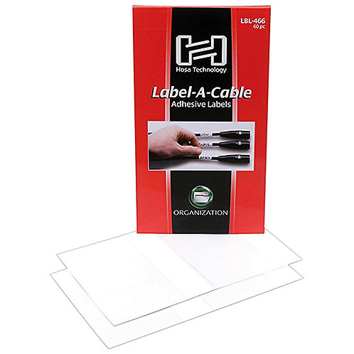 Label-A-Cable (60 Pack) : Hosa