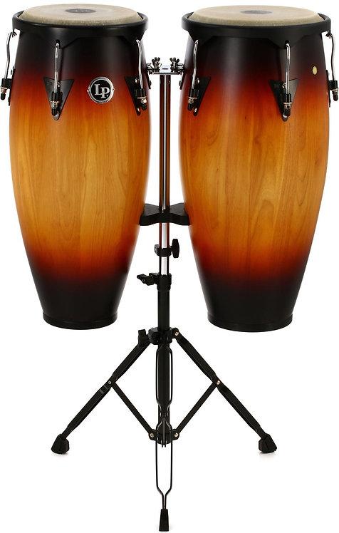LP646NY-VSB City Series Conga Set with Stand : Latin Percussion