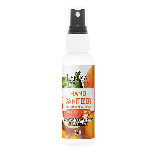 "Hand Sanitizer ""Tropical Citris"" 2oz Spray : Lanikai B & B"
