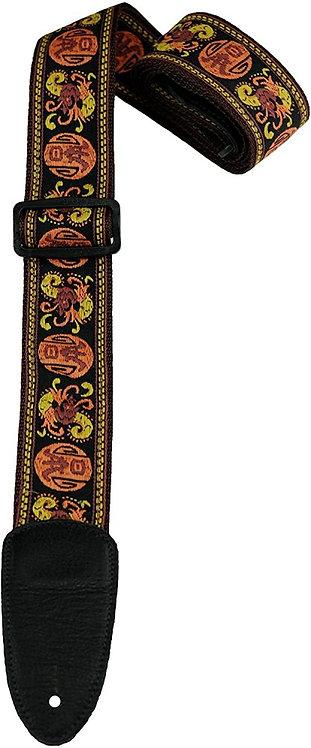 Deluxe Woven Jacquard Guitar Strap : Heller