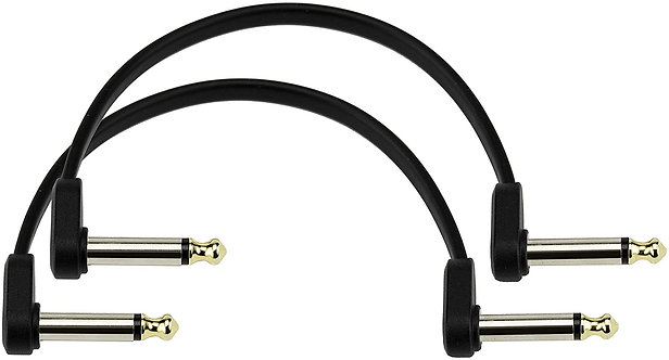 6 inch Flat Patch Cable 2-pack  : D'addario