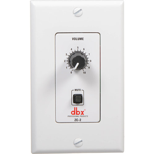 ZC-2 Rotary Volume Control with Mute Function for DriveRack and ZonePro : DBX
