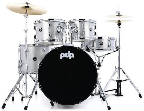 "20"" Bass Drum 5-Piece Complete Kit  - Diamond White Sparkle –  : PDP"